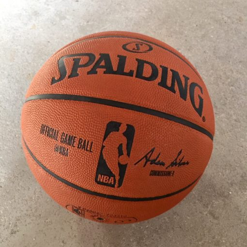 Spalding Official NBA Game Indoor Basketball Str.7