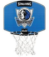 Spalding Mini Backboard-Dallas Mavericks