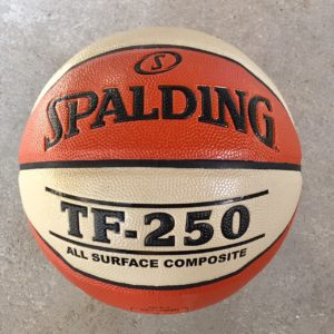 SPALDING TF 250 IN/OUTDOOR TWO-TONE BASKETBALL STR.6