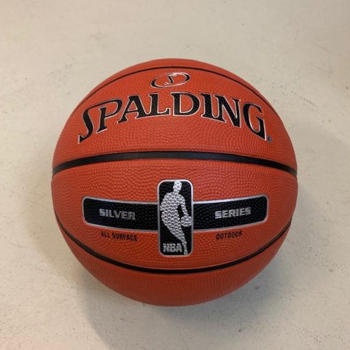 Spalding Silver Outdoor Basketball