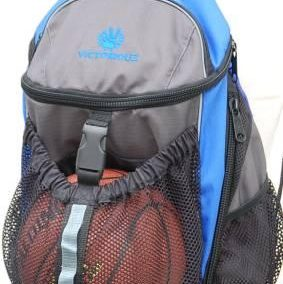 Basketball Backpack Victoriouz Blå