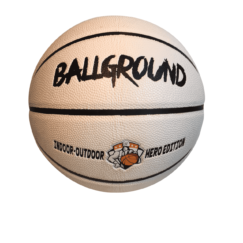 BallGround White Hero Edition In/Outdoor basketball