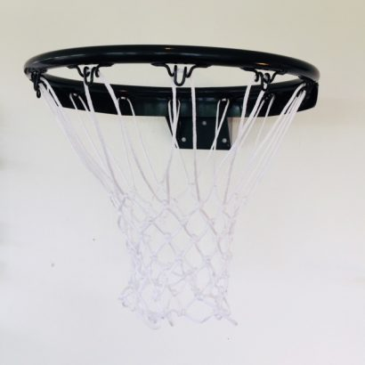 Streetplay Sort PRO Goliat Basketkurv med net