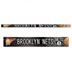 Brooklyn Nets 6Pack Team Logo blyanter.