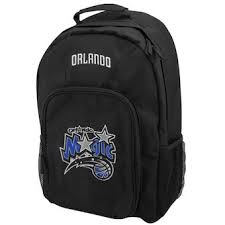 Orlando Magic Black Southpaw Backpack