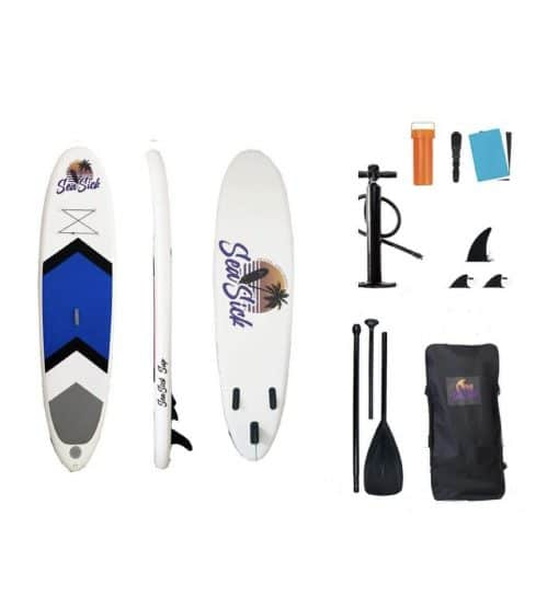 Sea Sick Oppusteligt SUP Stand Up Paddle board 320 cm - Blå