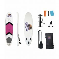 Sea Sick Oppusteligt SUP Stand Up Paddle board 320 cm - Pink