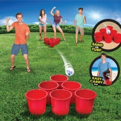 Giant Beer Pong Game - Toss Like A Boss